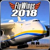 Flight Simulator 2018 FlyWings [Unlocked] скачать на андроид
