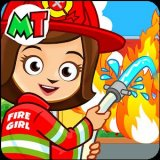 My Town : Fire station Rescue [Unlocked] скачать на андроид