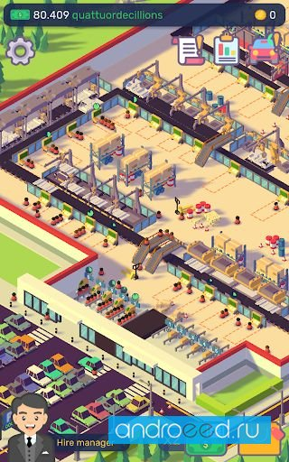 Download Car Industry Tycoon Idle Factory Simulator 1.5.7 ...